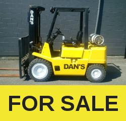 DAN'S FORKLIFTS, your forklift rental store  | Dan's Forklifts