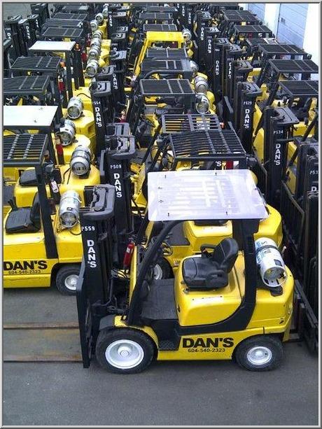 DAN'S FORKLIFTS, your forklift rental store    Dan's Forklifts