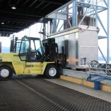 Hyster H360HD 36,000lb Capacity with Short Mast at BC Ferries