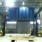 Moving a 48,000 lb industrial Oven